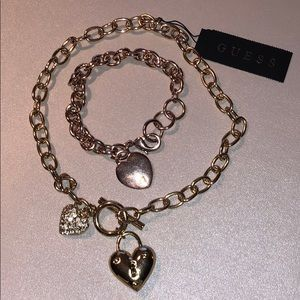 GUESS BRACELET AND NECKLACE SET